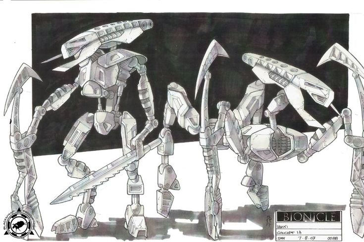 Bionicle 2: Legends of Metru Nui - Vahki Concept Art
