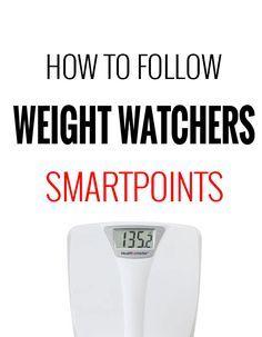How to Follow Weight Watchers SmartPoints Program – Recipe Diaries