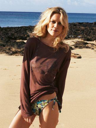 burda style, Schnittmuster - Longshirt mit U-Boot-Ausschnitt, langen Ärmeln und offenen Saumkanten