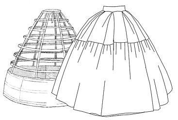 Free Hoop Petticoat Diagram                                                                                                                                                     More
