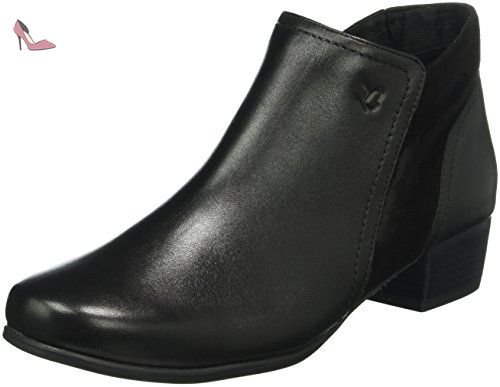 25350, Bottes Chelsea Femme, Noir (Black Na.Multi), 38 EUCaprice