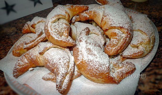 Ořechové rohlíčky bez kynutí • recept • bonvivani.sk