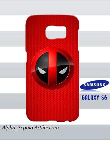 Deadpool Samsung Galaxy S6 Case Cover Hardshell