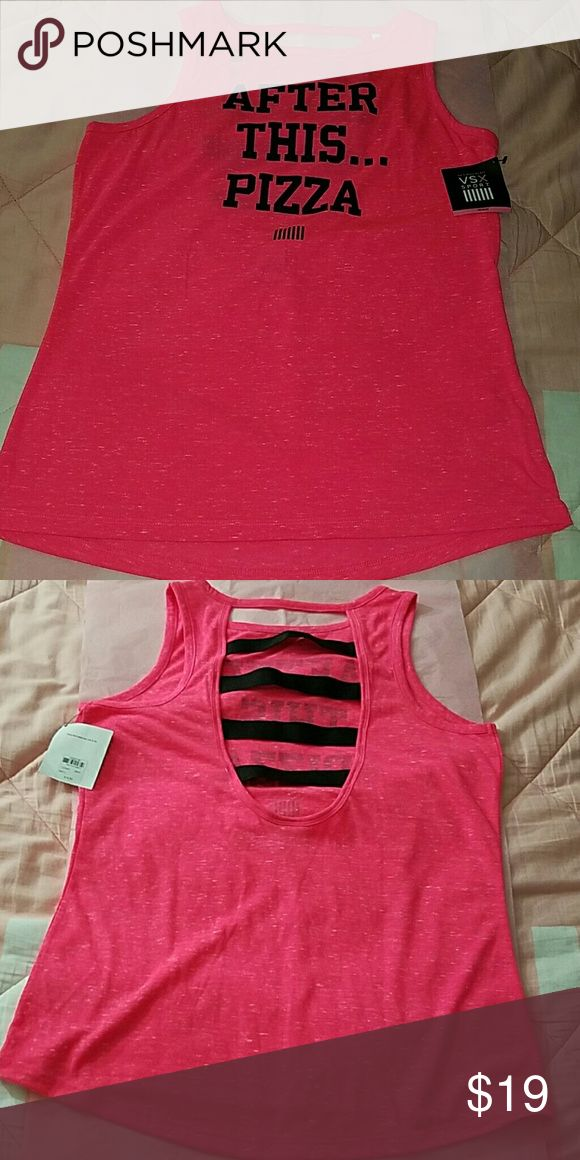 VSX SPORT MEDIUM AFTER THIS...PIZZA Victoria's Secret Tops Muscle Tees