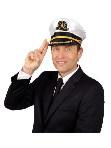 """https://11ter11ter.de/40338232.html Mütze """"Kapitän Stanley"""" #11ter11ter #Fasching #Mottoparty #Party #Outfit #Kostüm #Mütze #Marine #maritim"""