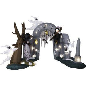 Inflatable Halloween - Where to Buy Great Inflatable Decorations, Lawn Decor and Halloween Costumes