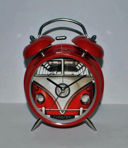 VW Kombi Clock - right in time...