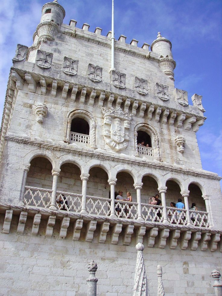 Torre de Belem....very narrow stairs...walked all the way to to top...not easy.