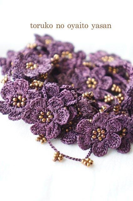 画像2: A トゥーオヤの小花ラリエット