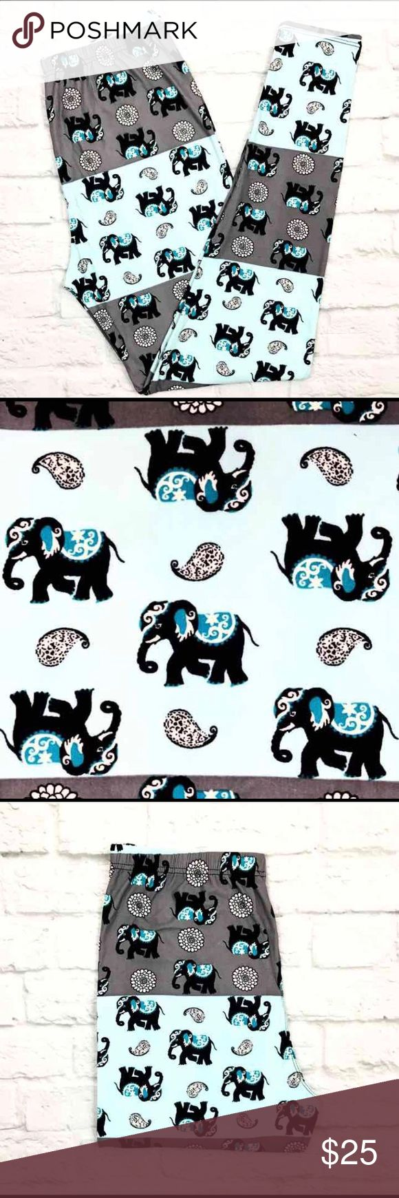 Buttery Soft Elephant Safari Leggings Plus Size TC BUTTERY SOFT ELEPHANT SAFARI LEGGINGS Size: Plus Size (Similar to Tall & Curvy) Numeric Size: 10-18 Waistband: Elastic THESE ARE NOT LULAROE Fabric Blend: 92% Polyester 8% Spandex (Same Blend as Lularoe) Brand New - Hard to Find Limited Edition Print! Super Soft & Comfy Leggings ~ Just Like Other Brands!! These ARE NOT LuLaRoe Leggings But Fit & Feel Just Like Them! *Ships Within 24 Hours* *Smoke Free Home* ~All Prints Are Limited Edition…