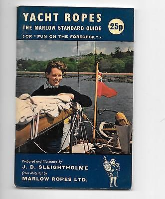 sailing equipment, Yacht Ropes, by Marlow Ropes, J.D.Sleightholme