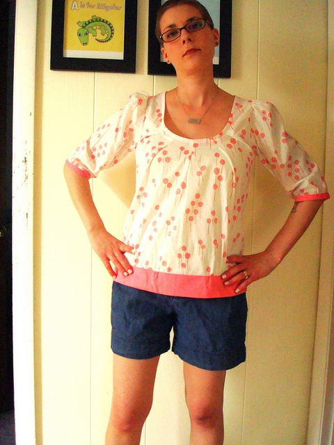 Roundabout Blouse (from Anna Maria Horner pattern)