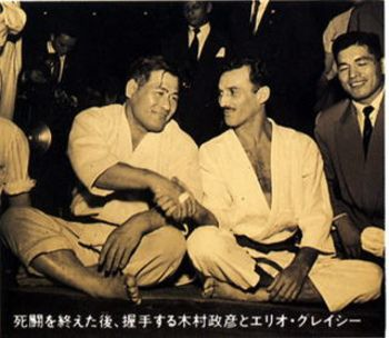 October 23, 1951 in Rio de Janeiro. Kato Kimura and Helio Gracie shake hands after their match. It marks the day that Jiu-Jitsu officially broke away from Judo and became its own art.