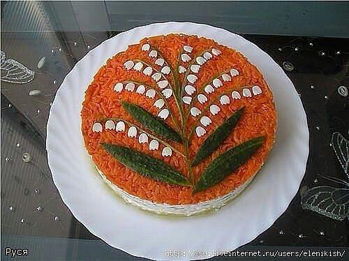 Торт салат.