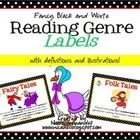 These genre labels were created in two distinct colors, red and green to help kids to identify all the varying sub-categories that their books fall...