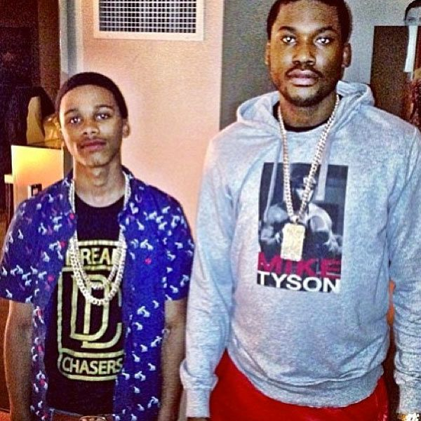 Meek Mill Pays Heartbreaking Tribute To Lil Snupe After His Death