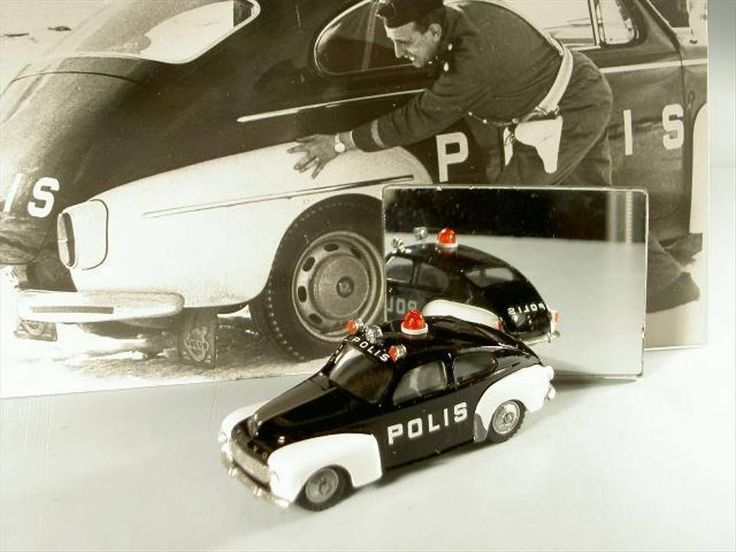 Volvo PV 544 Police Car