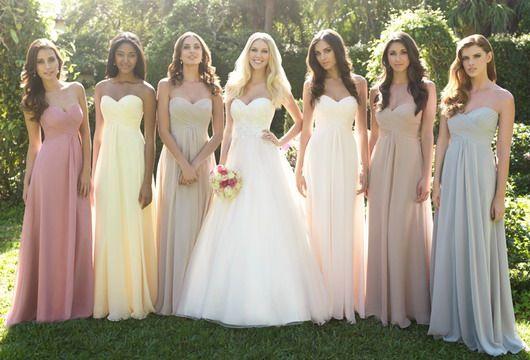 Idées de disparités pour les robes demoiselle d'honneur | Blog officiel de PERSUN.FR