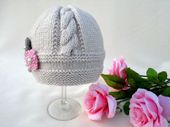 )))))))))) ----- P A T T E R N ---- (((((((((((( .......... KNITTING INSTRUCTION ........... ----------------------------------------------------------------------- This is a Knitting PATTERN Baby Hat ( PDF file ). Price is ONLY for the PATTERN and NOT for the finished item ! ----------------------------------------------------------------------------------------------- They are knitted on two needles! Pattern is made for Sizes : 0 -3 months ; 3 - 6 months ; 6 - 12 m...