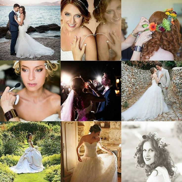 Most loved on 2016! <3 Real brides by #antigonilivieratou