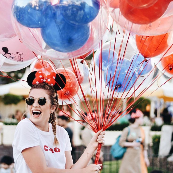"""""""Never too old for Mickey ears and balloons"""""""