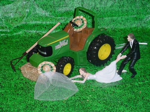 Tractor Cake Toppers Ireland