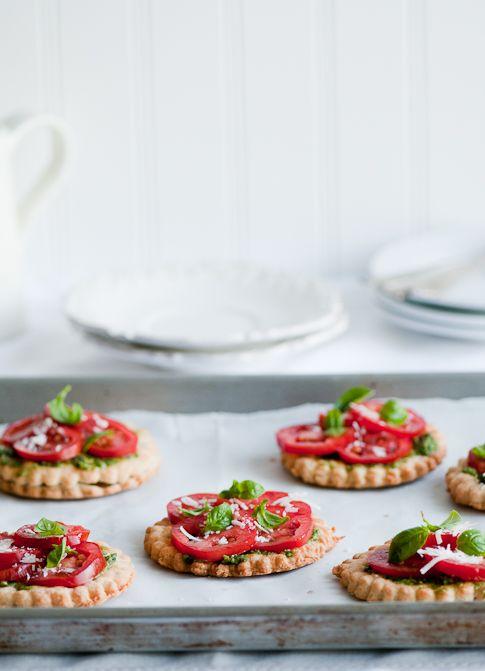 Fresh Tomato Tart via White on Rice Couple #recipe