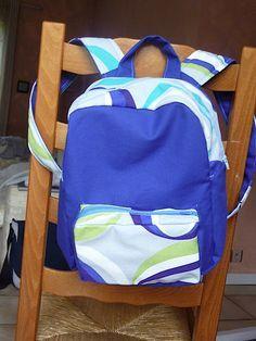 papelhilo : les créations de l'araignée: tuto pour le sac à dos d'enfant