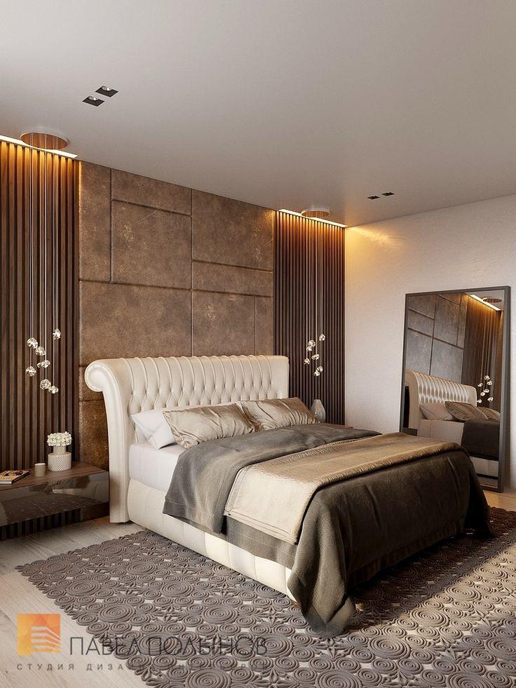 Фото: Интерьер спальни - Квартира в современном стиле, ЖК «Сергиев Пассаж», 110 кв.м.