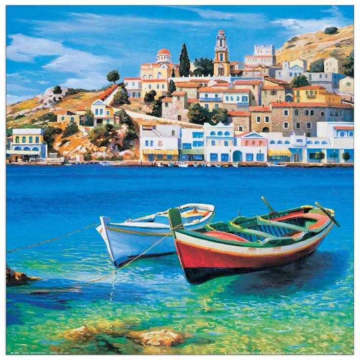 Galasso - Golfo mediterraneo 40x40 cm #artprints #interior #design #art #prints  Scopri Descrizione e Prezzo http://www.artopweb.com/categorie/panorami-e-citta/EC22037