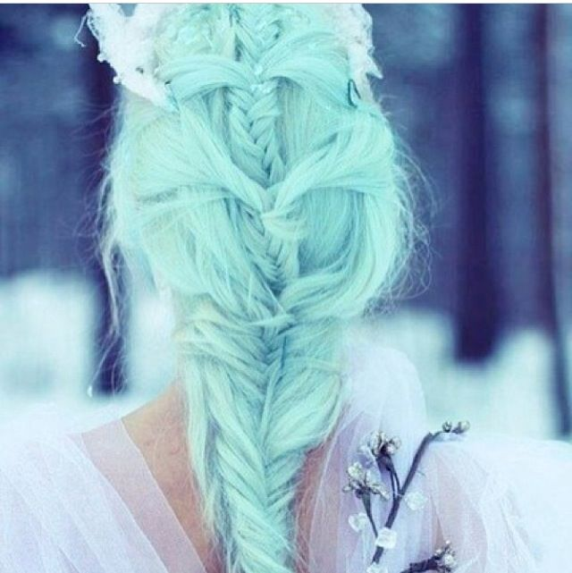 New How To Dye Hair Mint Green