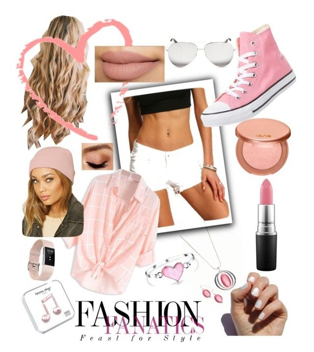 Plus White by bubblegum13fuschia on Polyvore featuring polyvore, fashion, style, Converse, Kim Rogers, Fitbit, Bling Jewelry, Forever 21, Victoria Beckham, tarte, MAC Cosmetics, Avon, SoGloss and clothing
