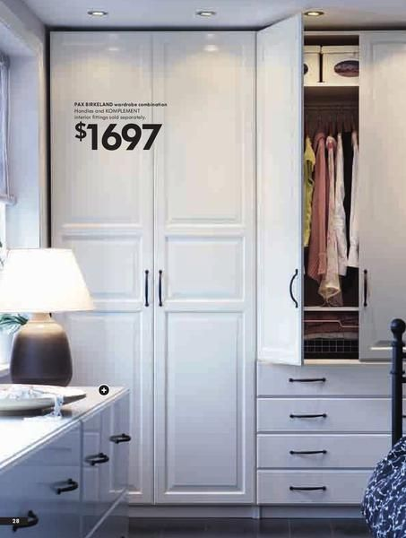 ikea wardrobes home ikea pinterest armario vestidor y recamara. Black Bedroom Furniture Sets. Home Design Ideas