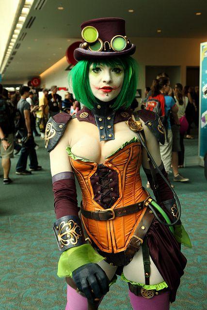 Steampunk (Comic-Con 2012) by JoshuaColeman, via Flickr