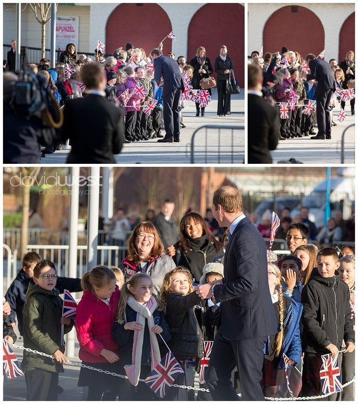 Prince William Visits South Shields – Duke of Cambridge - Royal - Prince