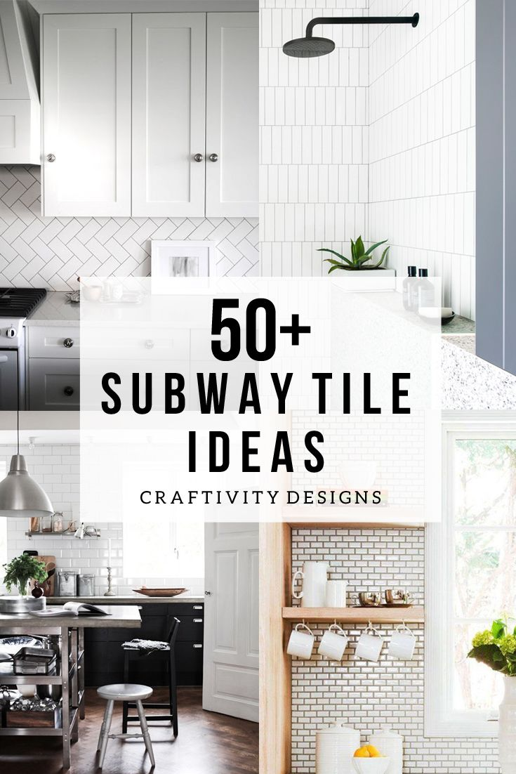 65 best S is for Subway Tile images on Pinterest | Bathrooms ...