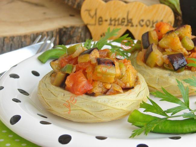 Zeytinyağlı Patlıcanlı Enginar Dolması Resimli Tarifi - Yemek Tarifleri