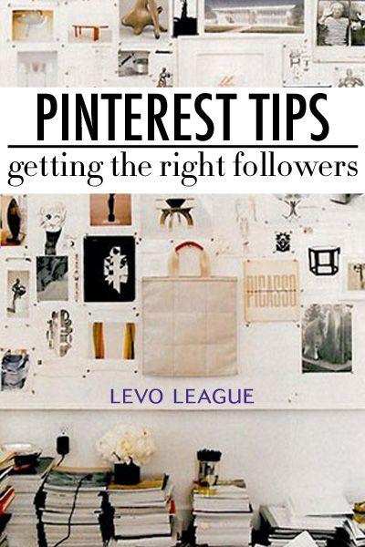 Tips for Getting Pinterest Followers