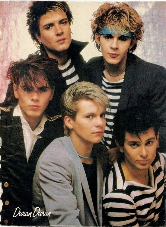 80s Fashion Pictures from 1981 - Duran Duran