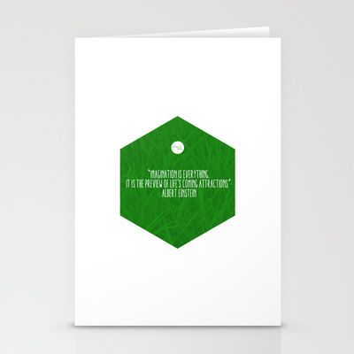 Imagination Is Everything Stationery Cards by Growing Ideas - $12.00
