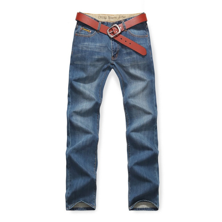 Deere Marchi Washed Straight Jeans