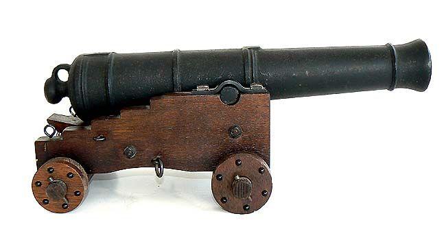 Carriage Cannon Plans Powder Black