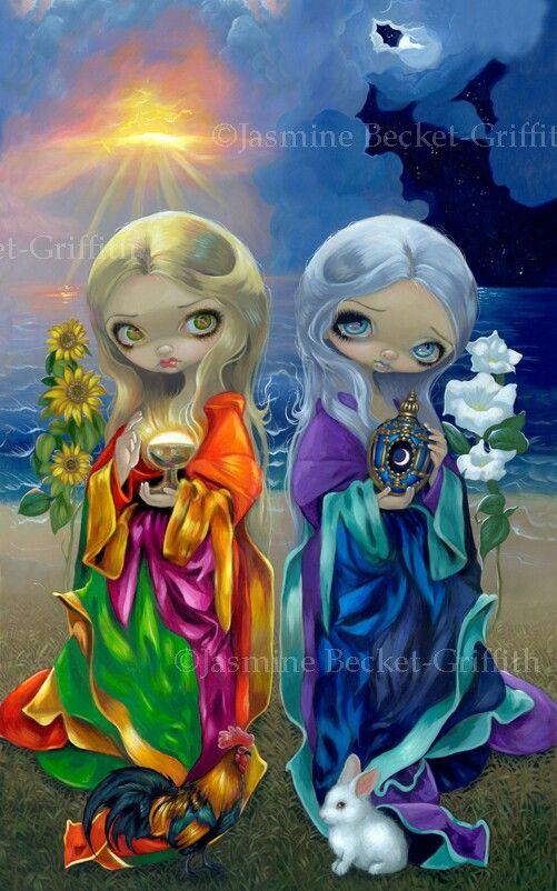 Sunchild and Moonchild - Zonnekind en Maankind
