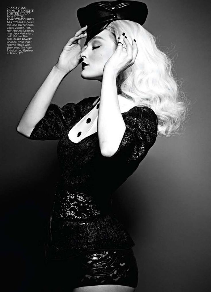 : Flare Magazines, Flare September, Black And White, Jessica Stam, Max Abadian, Fashion Photography, Fashion Editorial, Fashion Shoots, September 2011