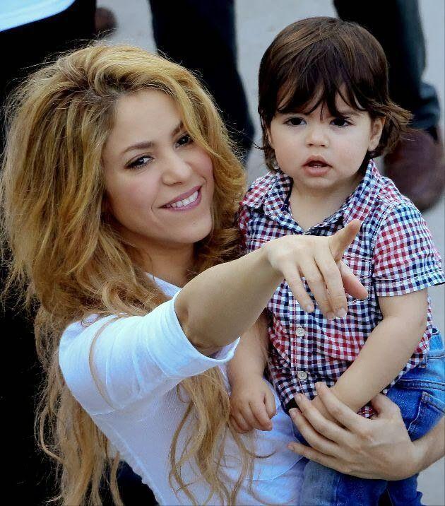 Shakira & Milan are adorable!!
