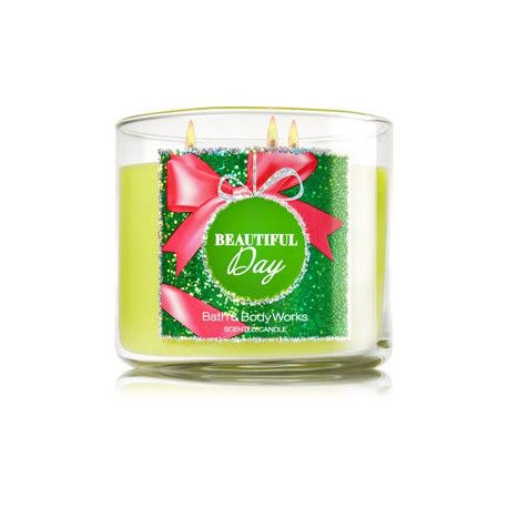 Bougie 3 mèches Beautiful Day Bath and Body Works