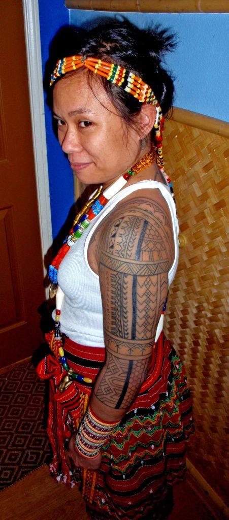 Tropical Dreams: Tattoo with a smile... Philippines near Sagada  #tattoo