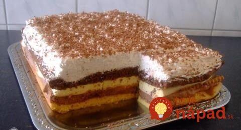 Šľahačková torta na plechu: Luxusný krémový dezert, ktorý si nebudete vedieť vynachváliť!