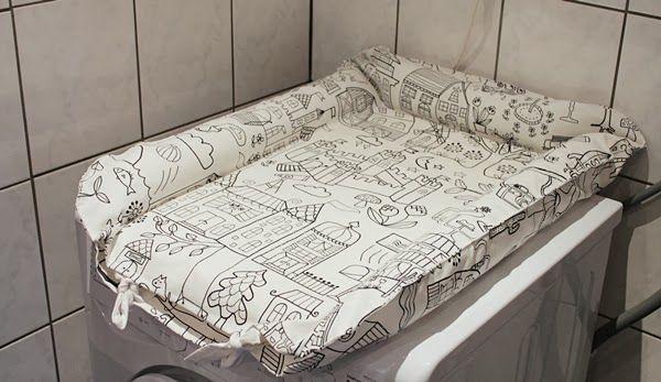 DIY - Sy eget överdrag eller fodral till IKEAs skötbädd Gullunge