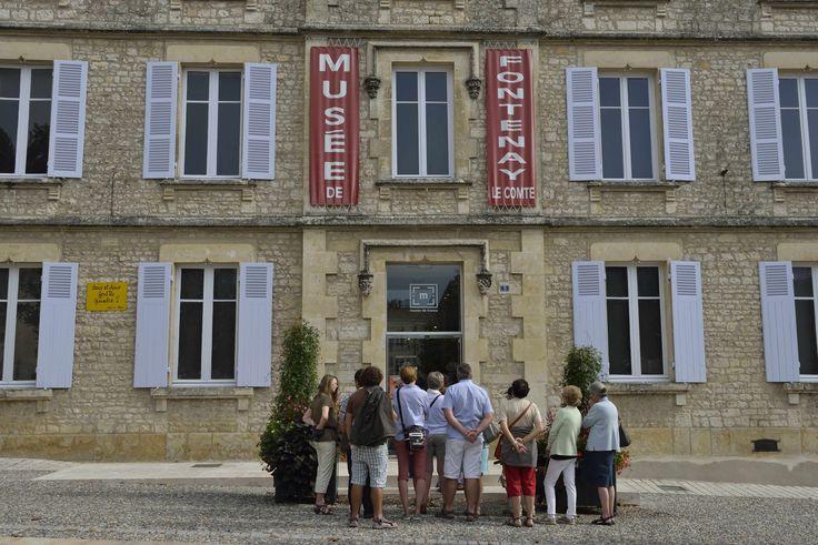 Musée vendéen de Fontenay-le-Comte. ©Pascal Baudry pour Sud Vendée Tourisme. Plus d'info : www.sudvendeetourisme.com